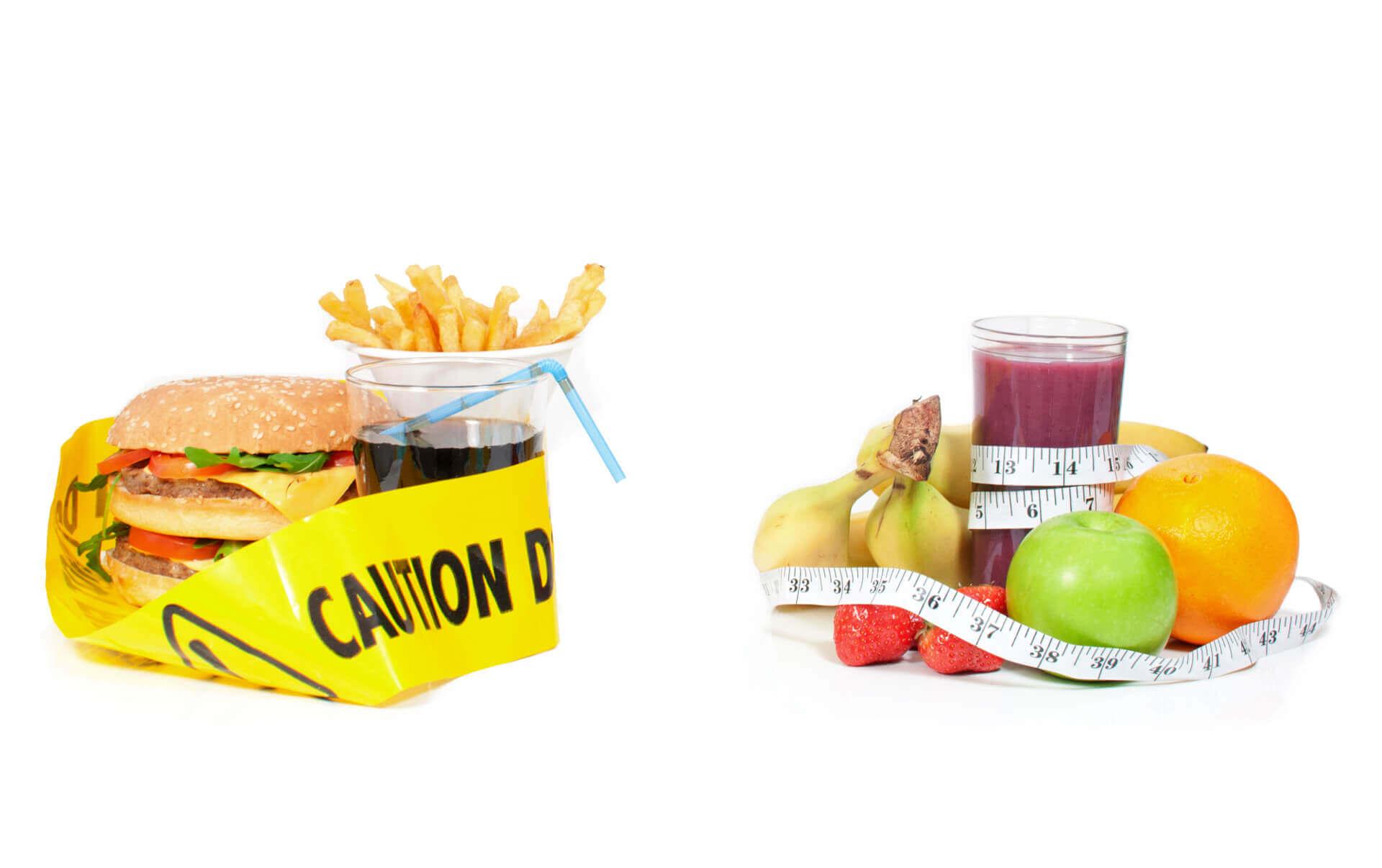 Śmieciowe czy zdrowe jedzenie?