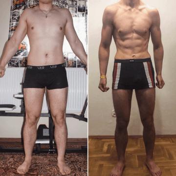 Łukasz -16 kg