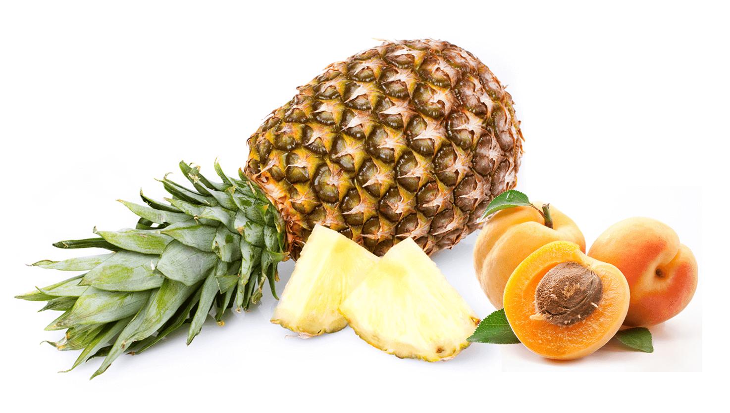 Koktajl z moreli i ananasa