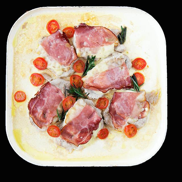 polędwiczki z szynką parmeńską i mozzarellą