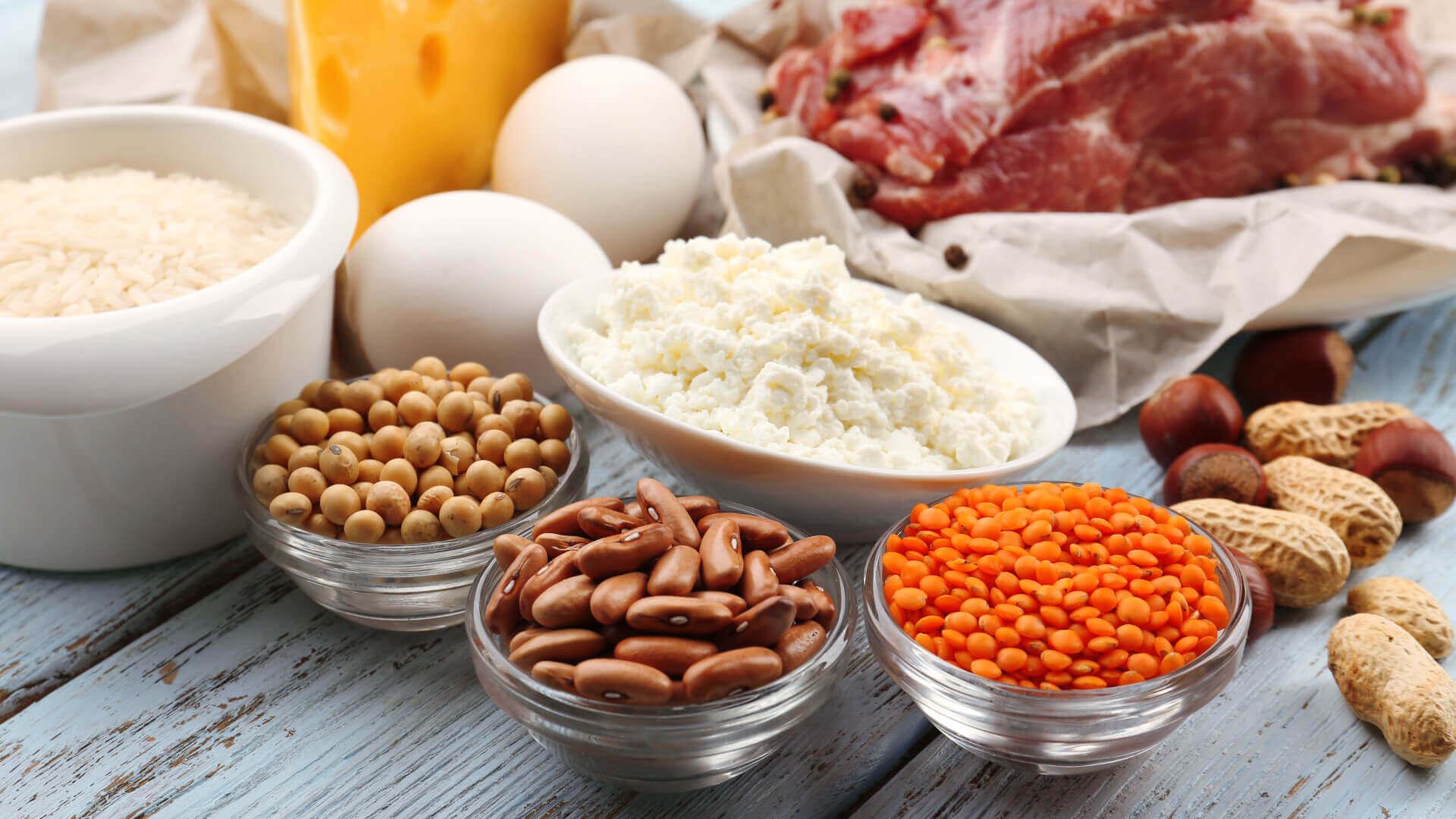 Najlepsze źródła białka w pożywieniu