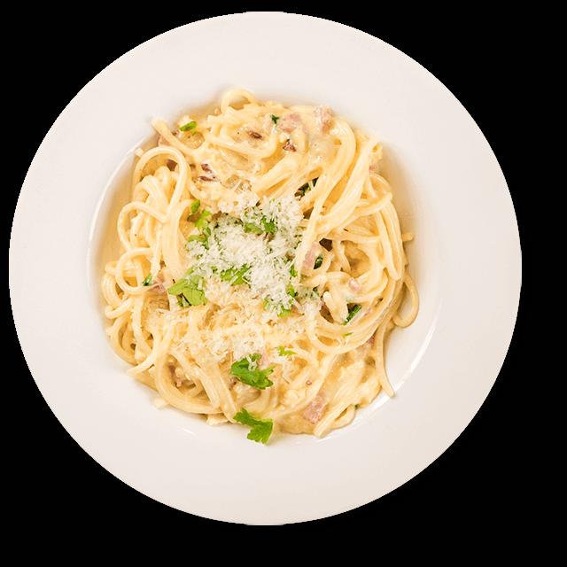 dietetyczne spaghetti carbonara