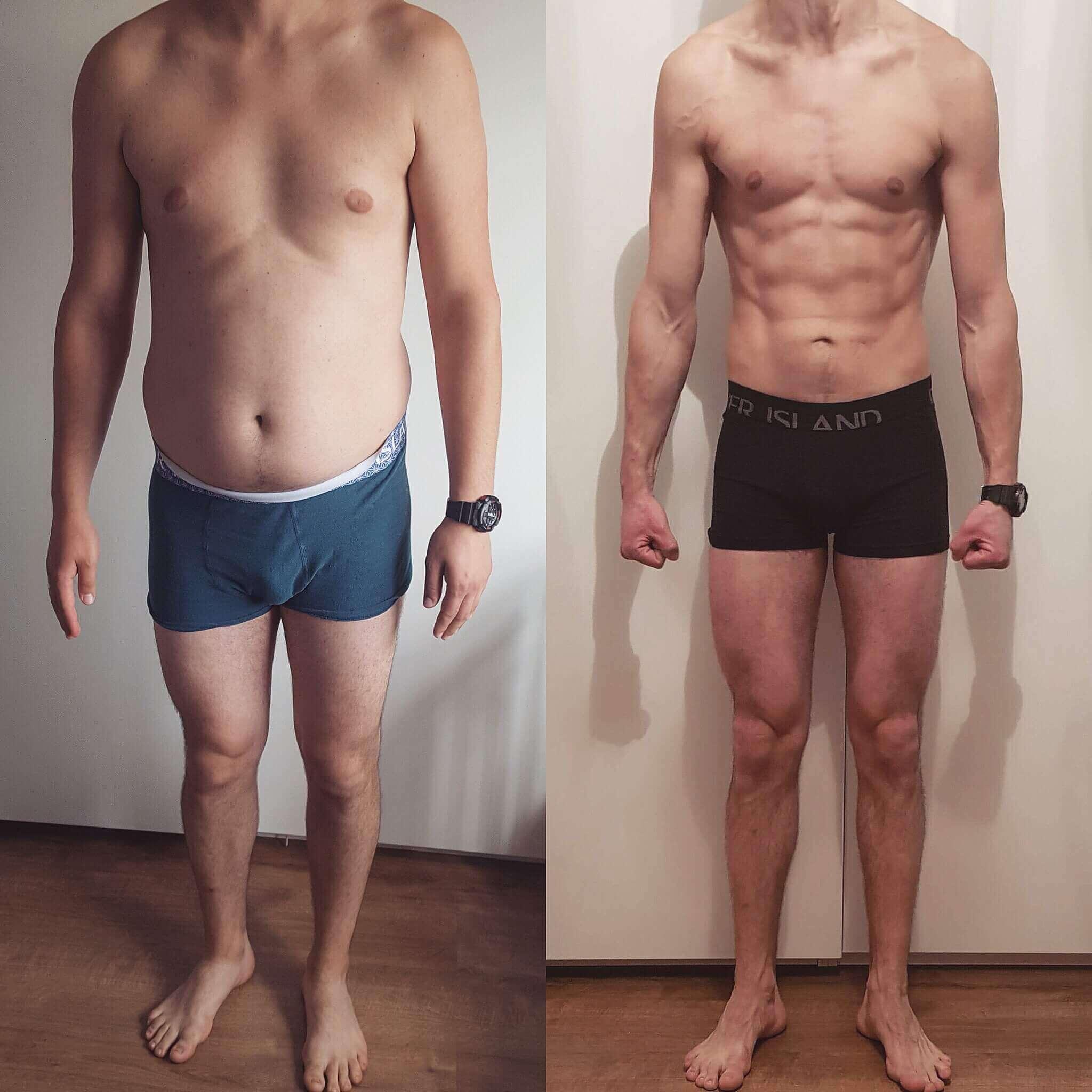 Michał -18 kg