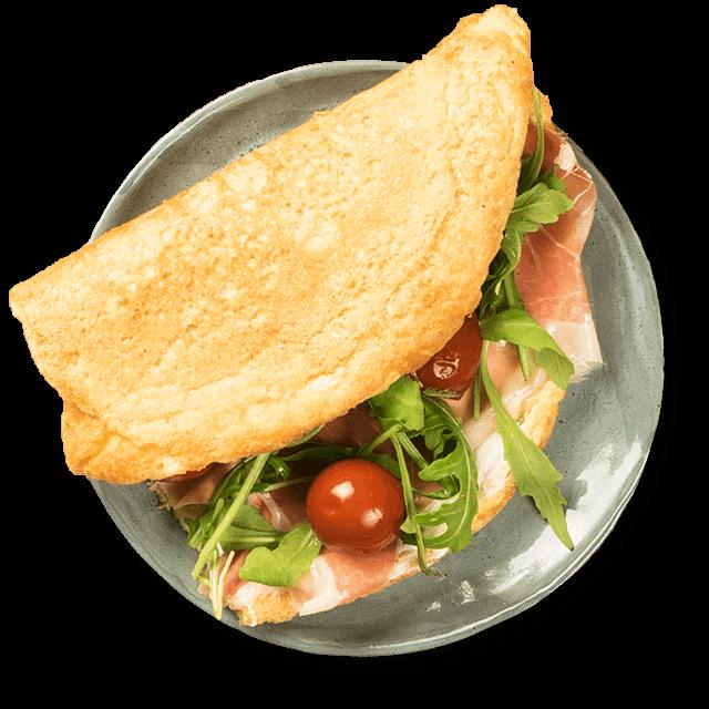 omlet kanapka