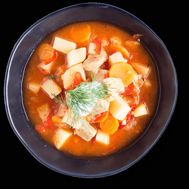 zupa ze schabem