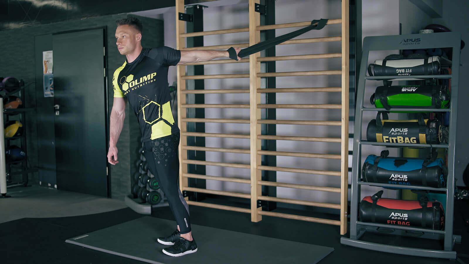 Rozciąganie mięśni bicepsów