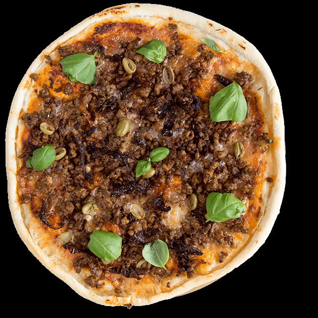 pizza z mięsem