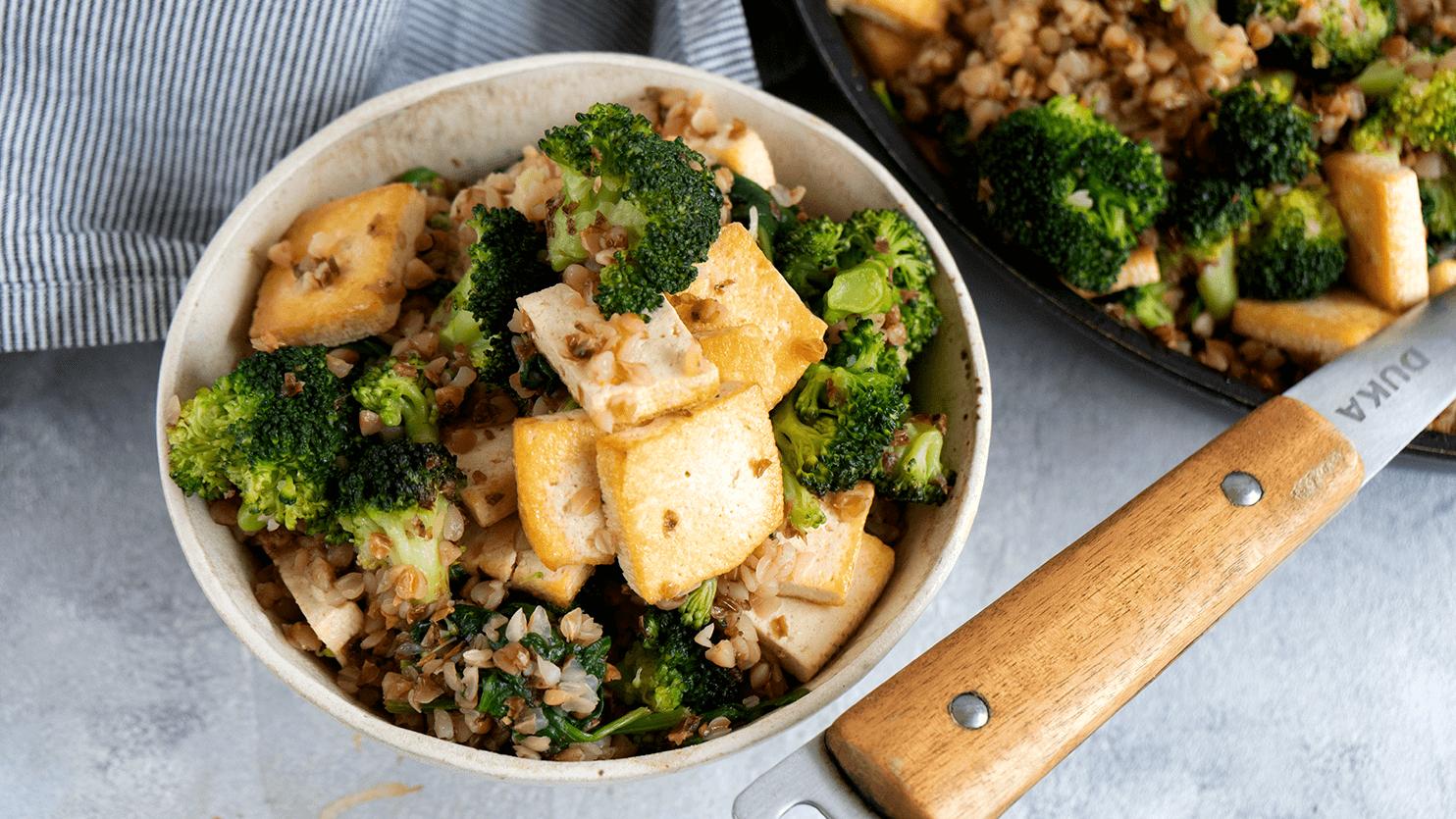 Kasza z tofu