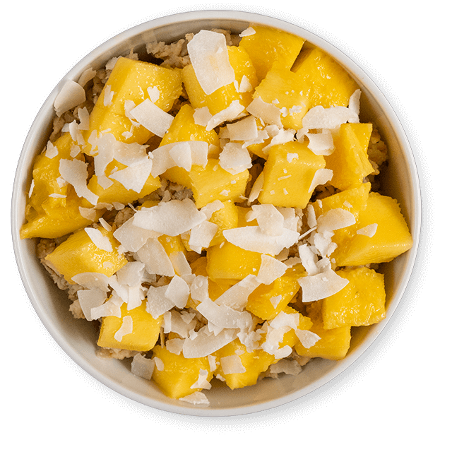 owsianka z mango