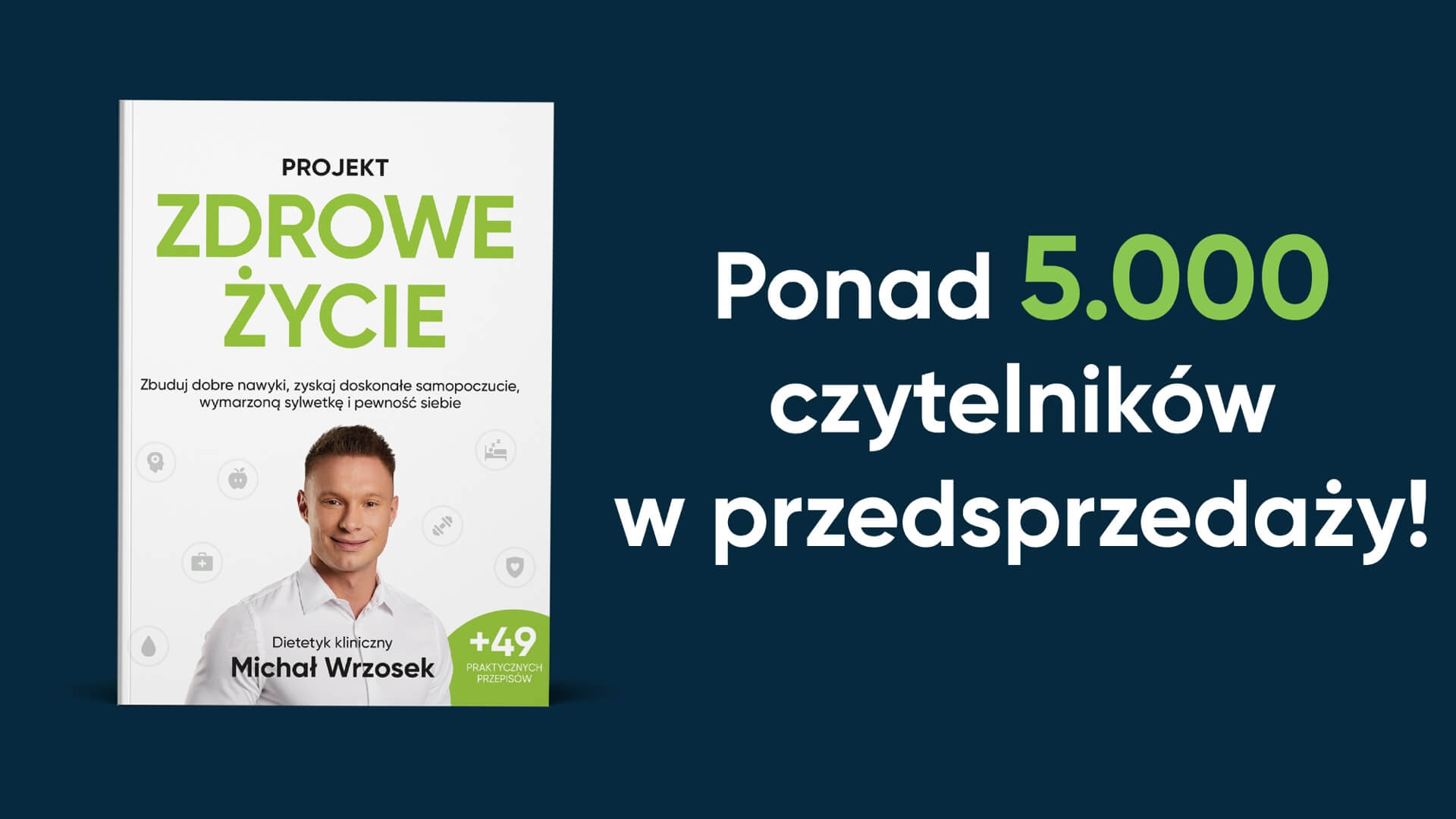 Premiera książki Projekt: Zdrowe Życie