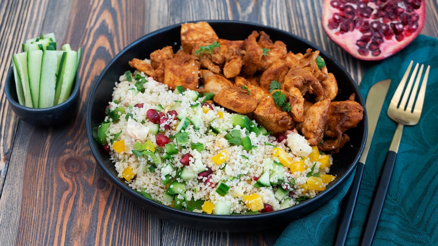 Kuskus z kurczakiem i warzywami