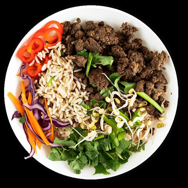 bowl z wołowiną