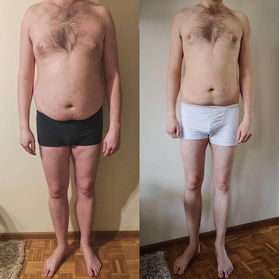 Rafał -22 kg
