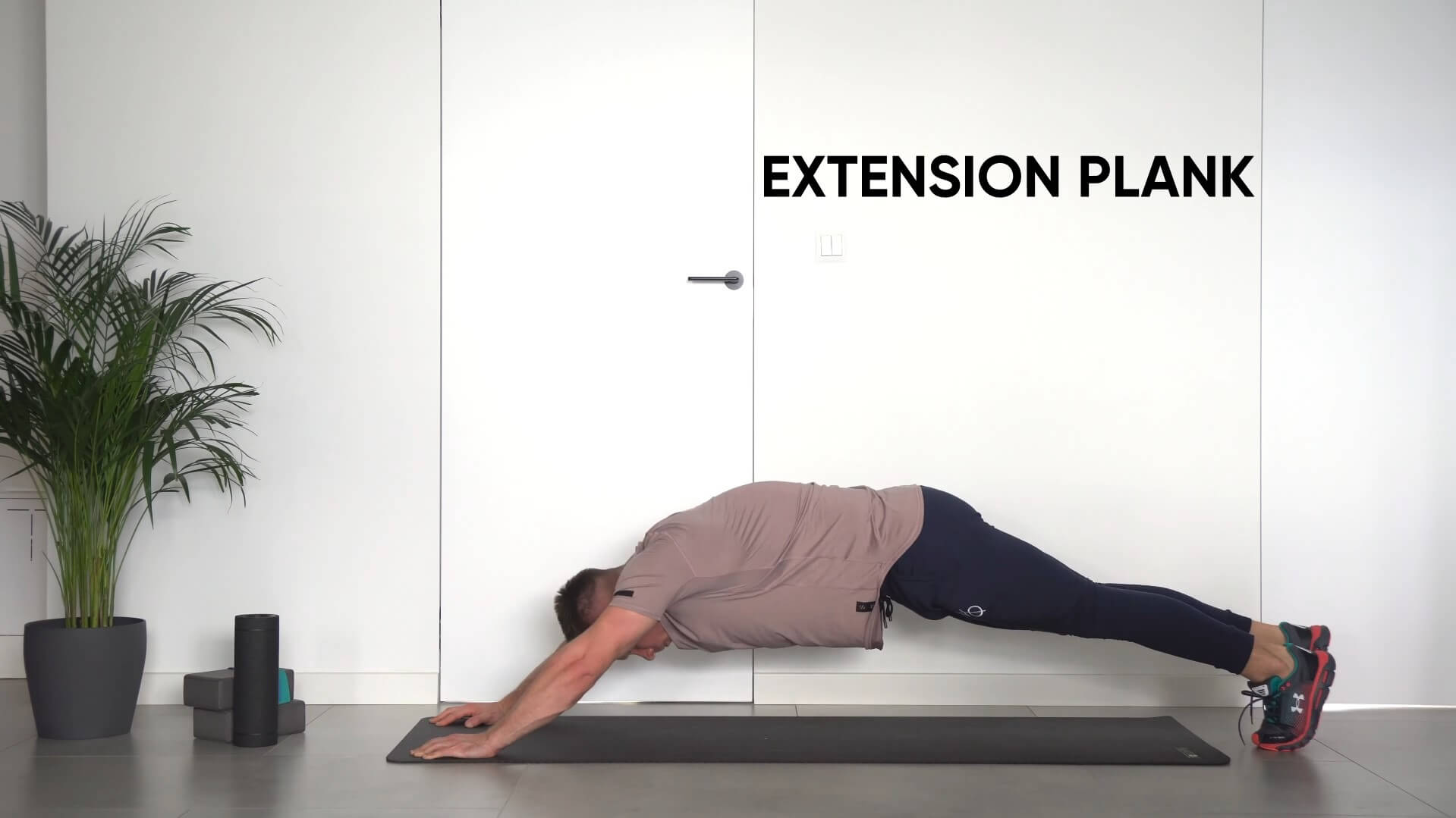Extension plank