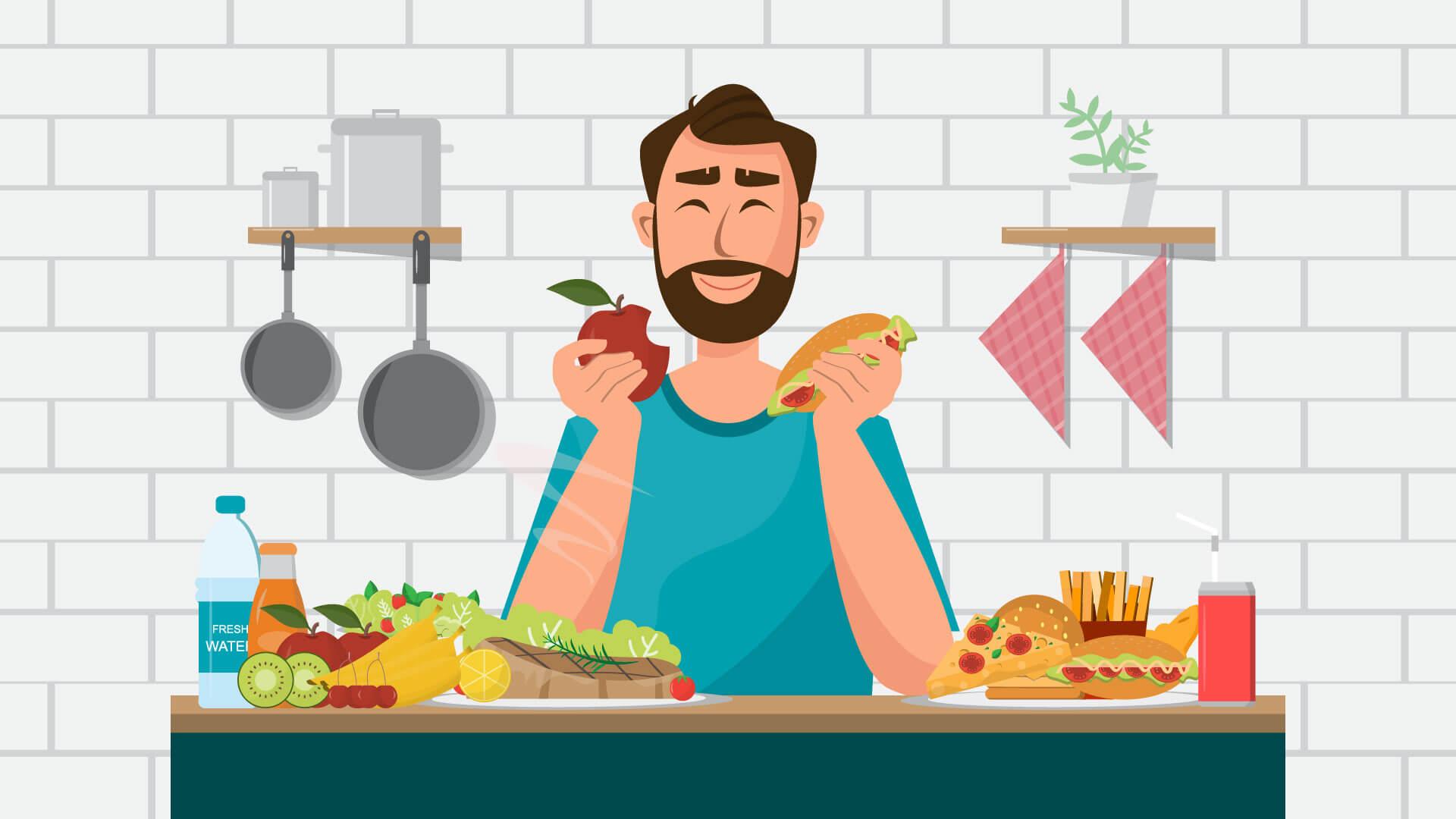 Dieta dla mężczyzn – jak szybko i skutecznie schudnąć?