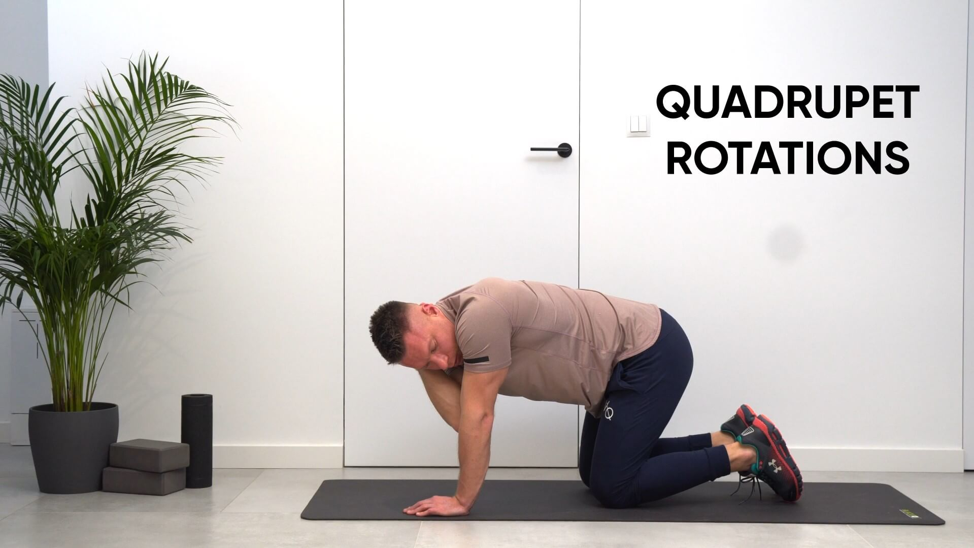 Quadruped rotations