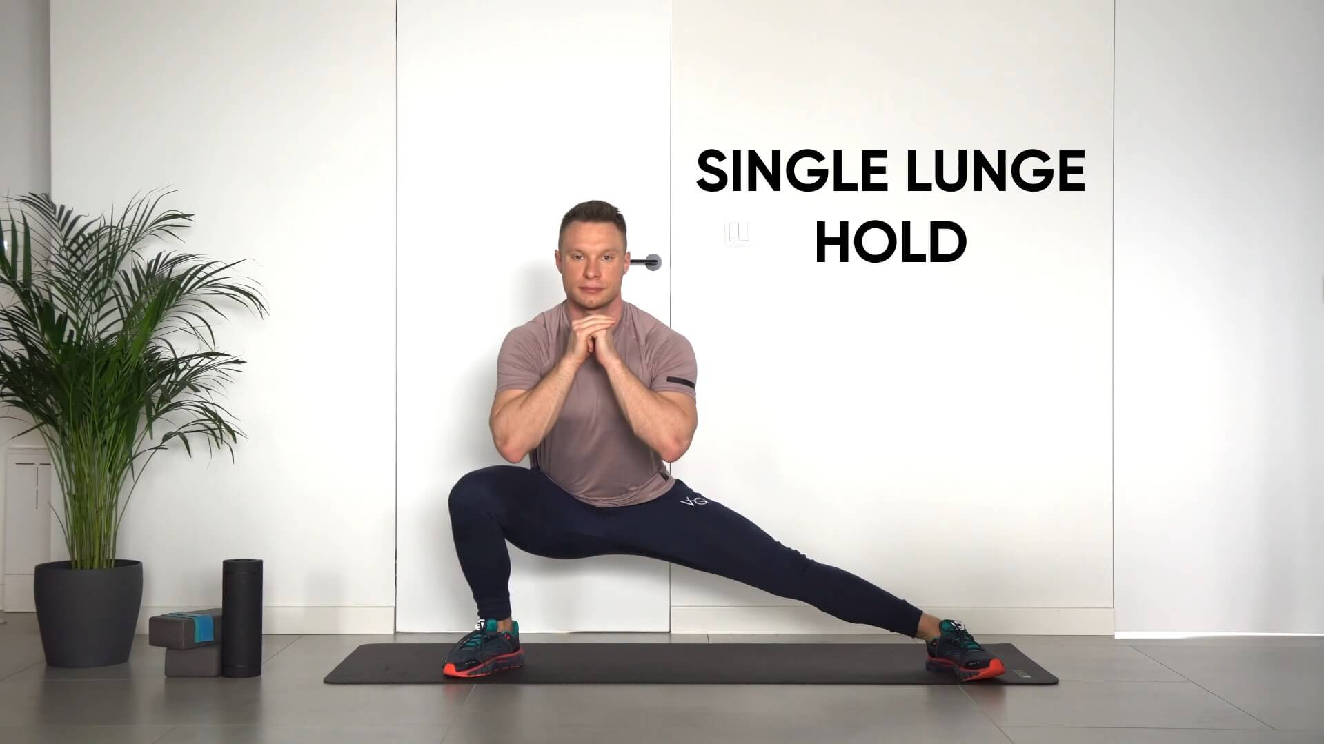 Single lunge hold