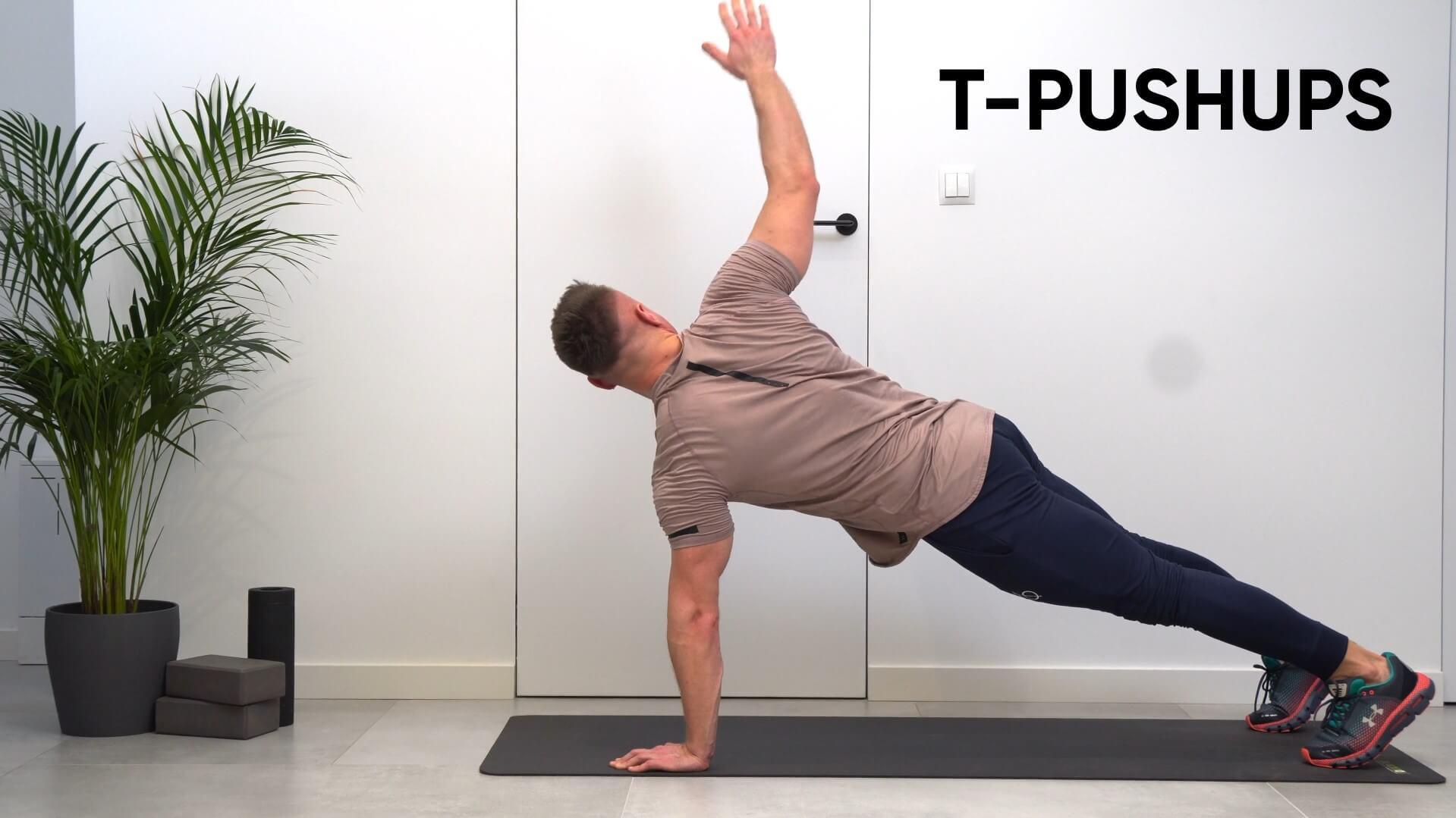 T-Pushups