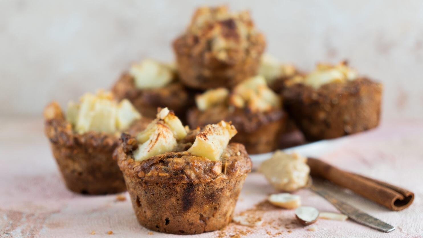 Muffinki szarlotki