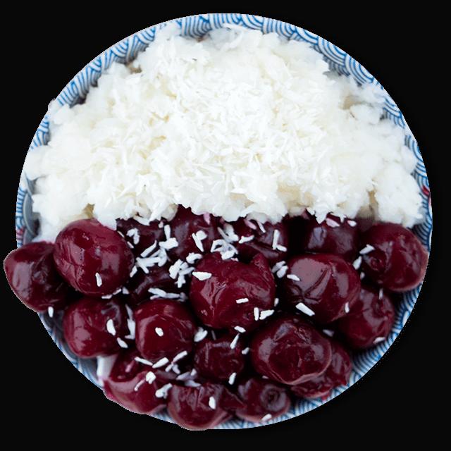 ryżanka z owocami