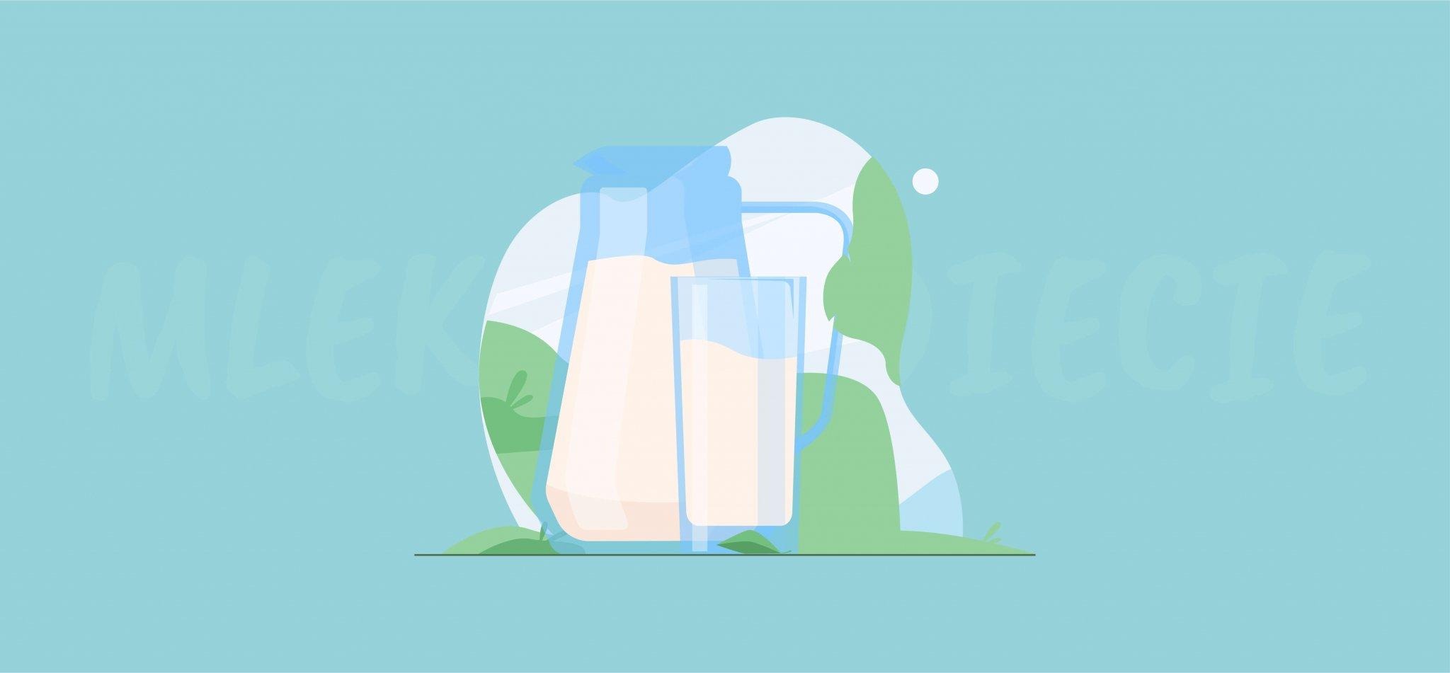 Mleko w diecie – plusy i minusy