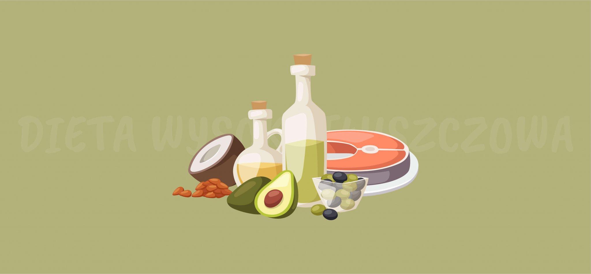 Dieta wysokotłuszczowa – korzyści i ryzyko związane z większą podażą tłuszczu