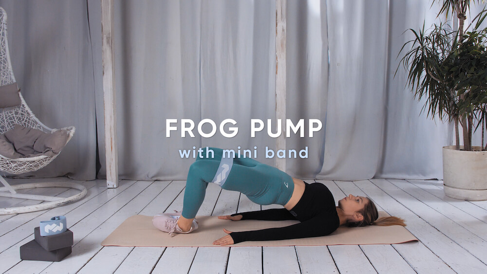 Frog pump with mini band