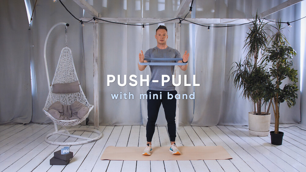 Push–pull with mini band