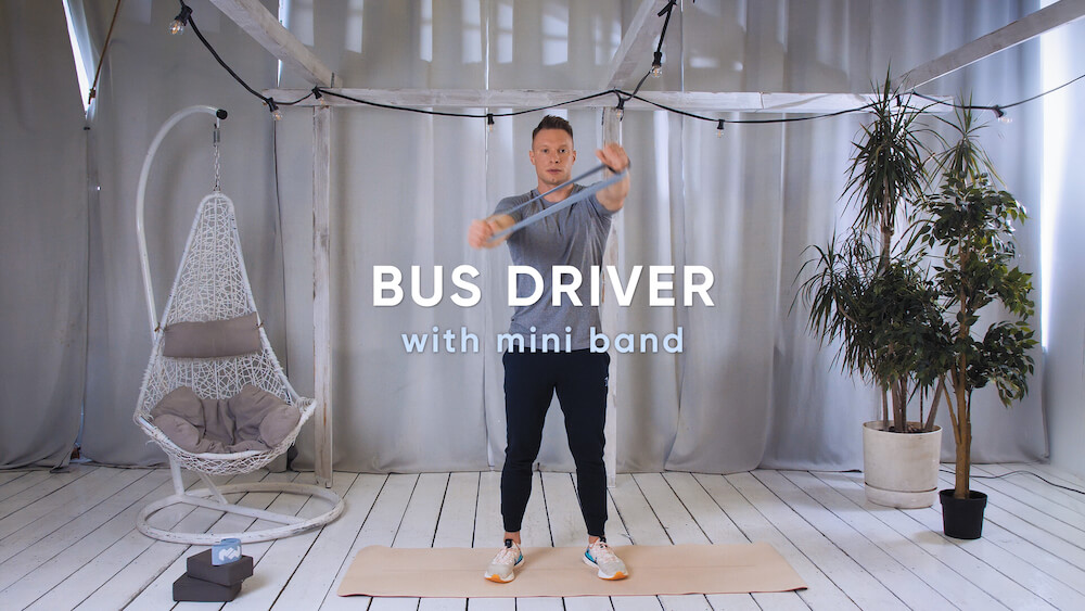 Bus driver with mini band