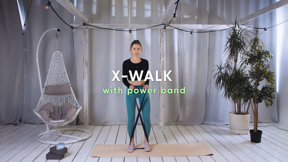 X-walk with power band