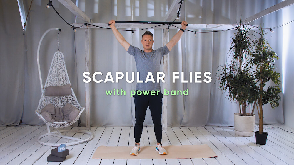 Scapular flies with power band