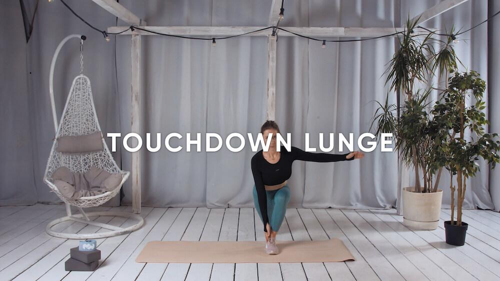 Touchdown lunge