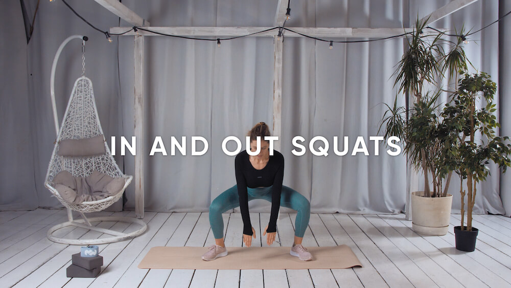 In and out squats
