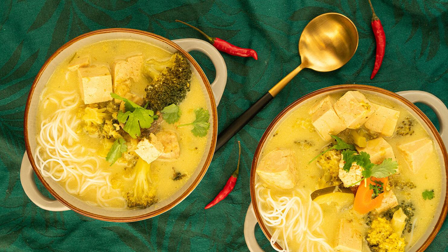 Zupa azjatycka z tofu