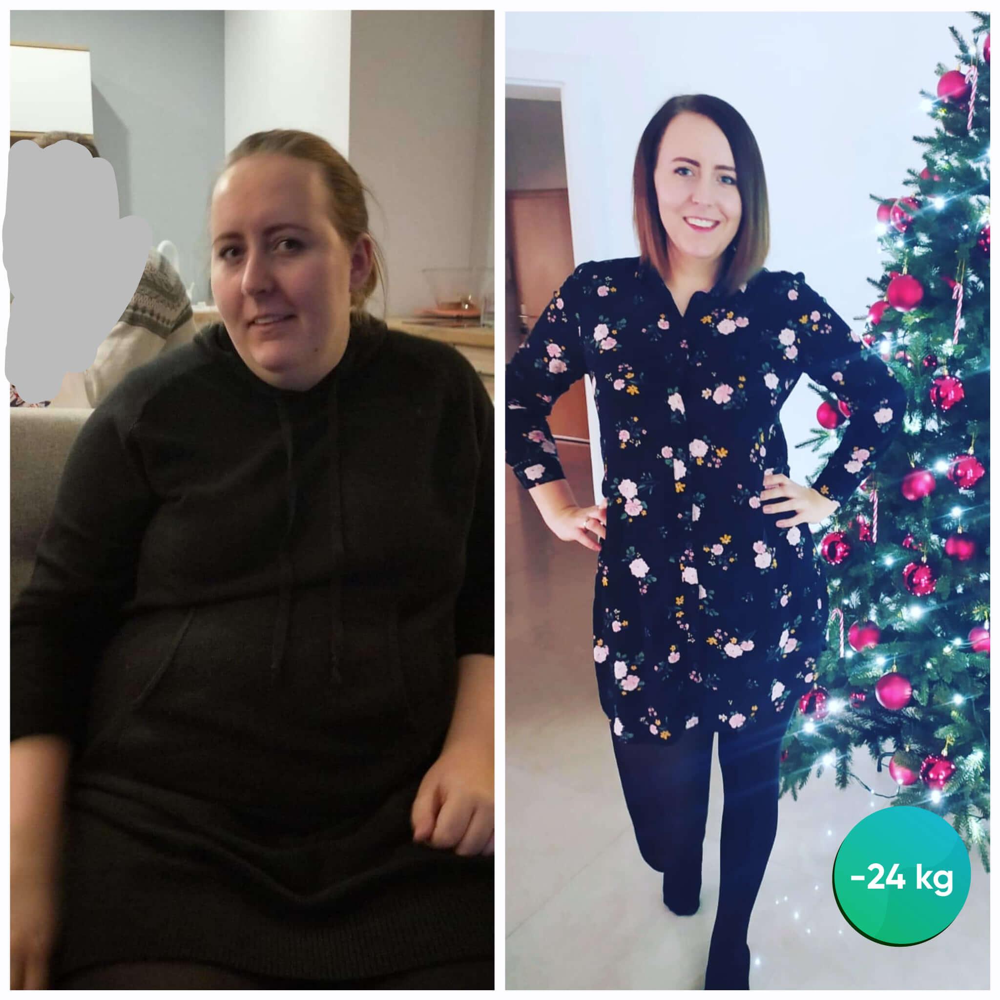 Justyna -24 kg