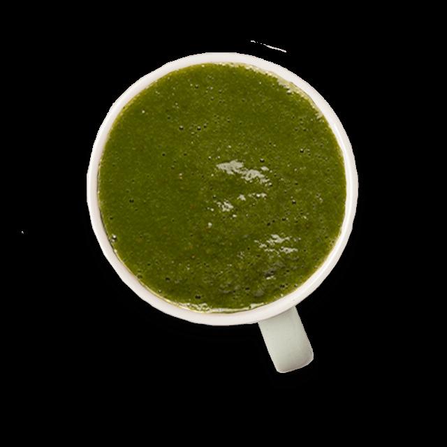 orzeźwiające zielone smoothie