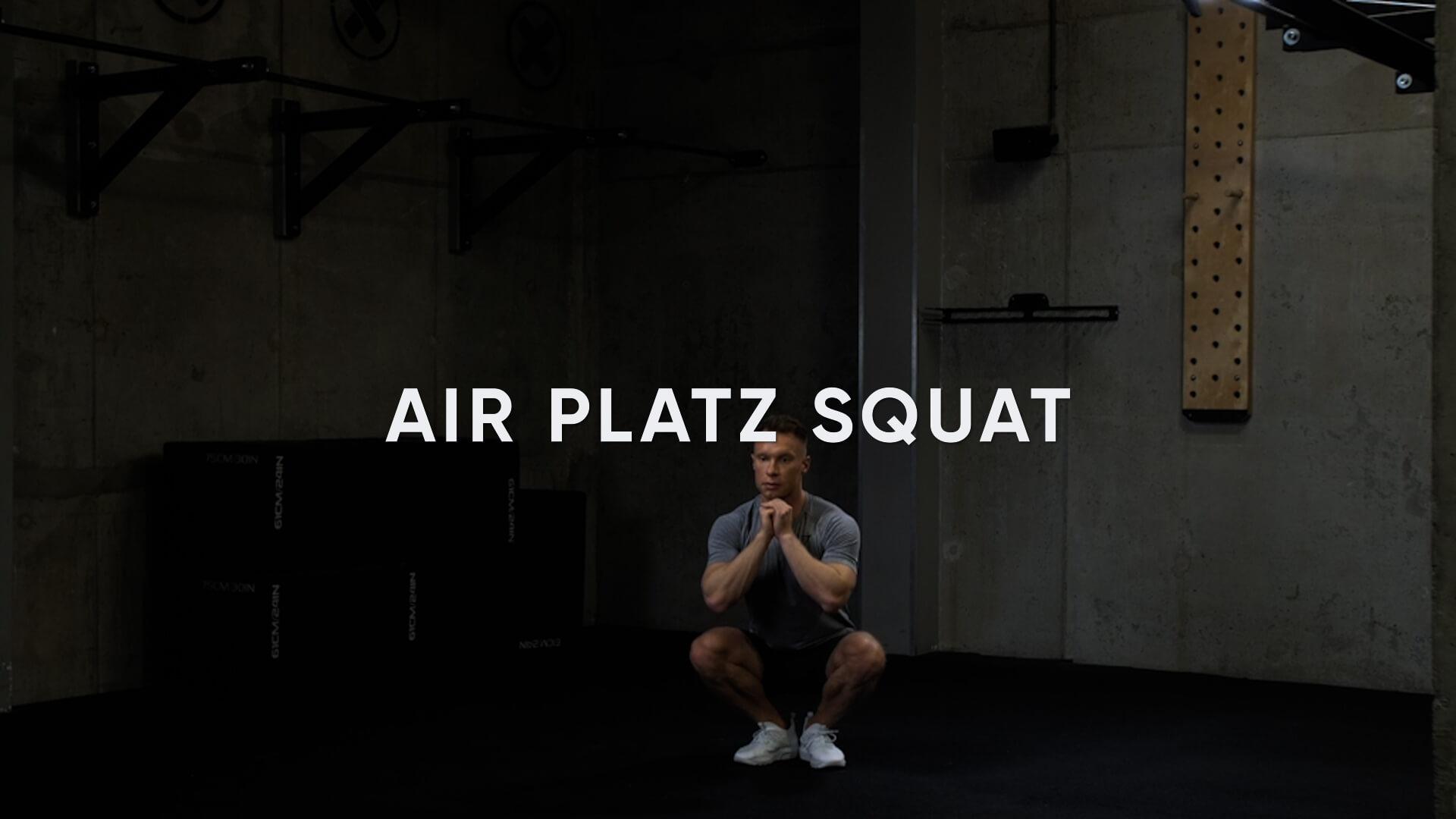 Air Platz Squat