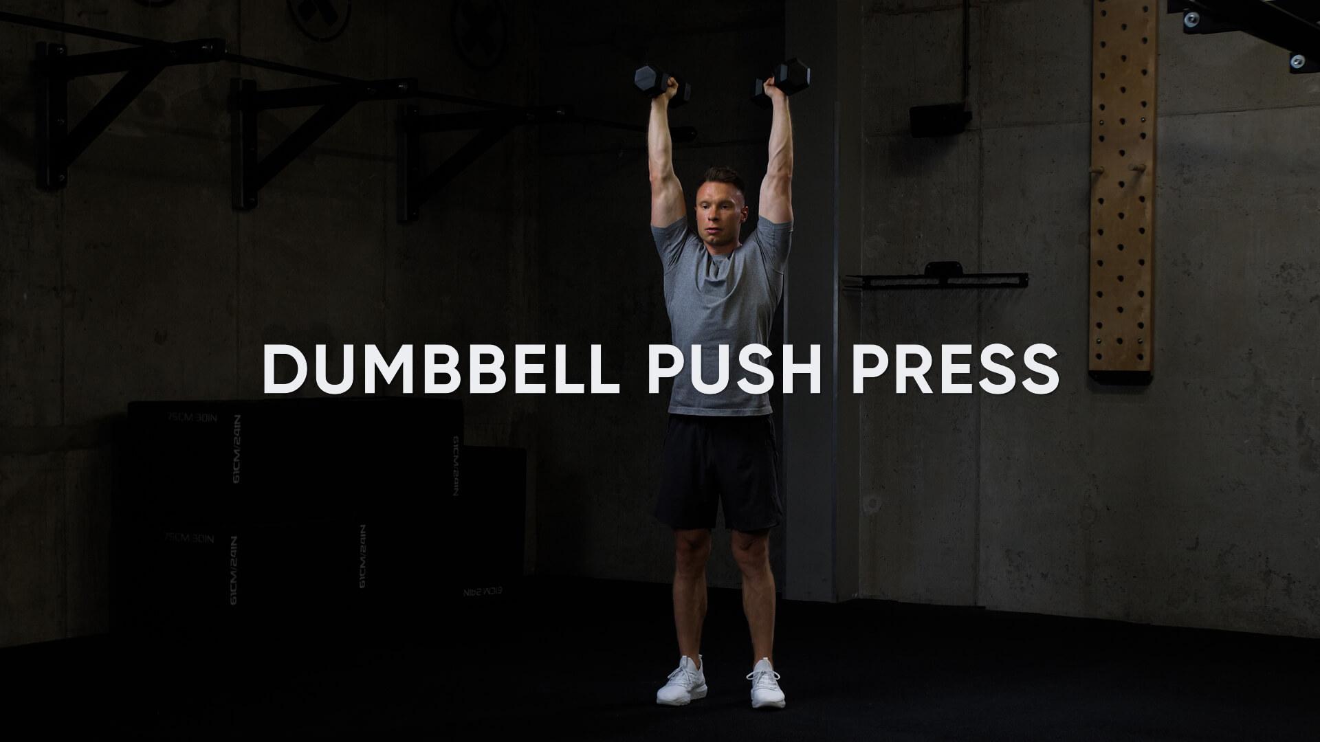 Dumbbell Push Press