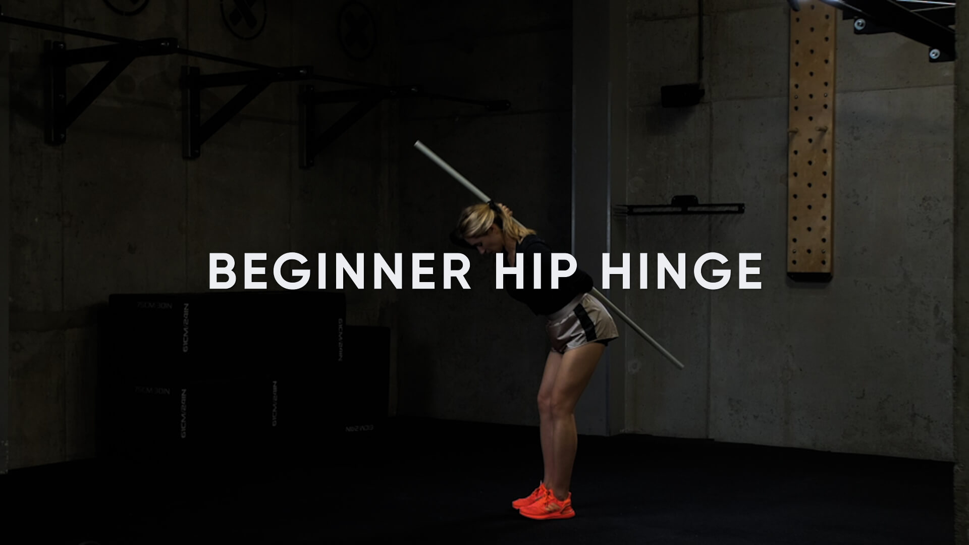 Beginner Hip Hinge
