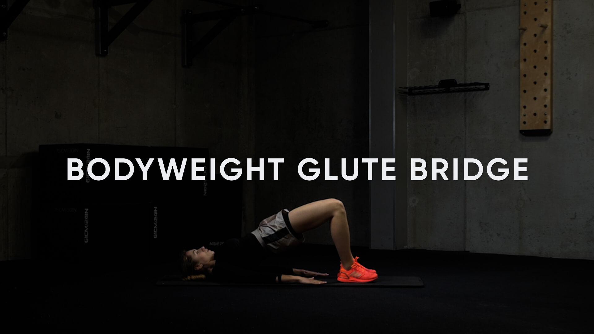 Bodyweight Glute Bridge