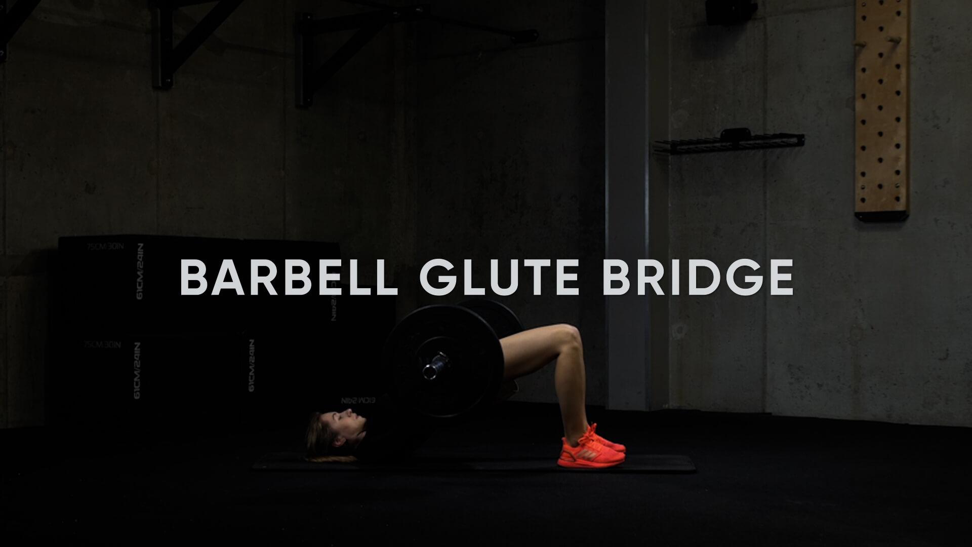 Barbell Glute Bridge