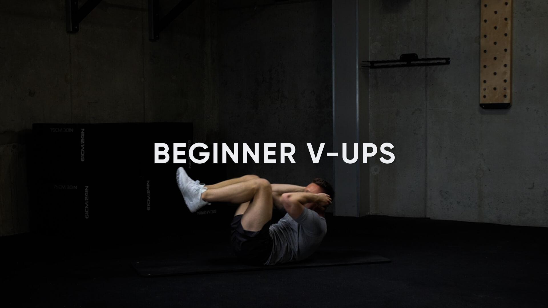 Beginner V-Ups