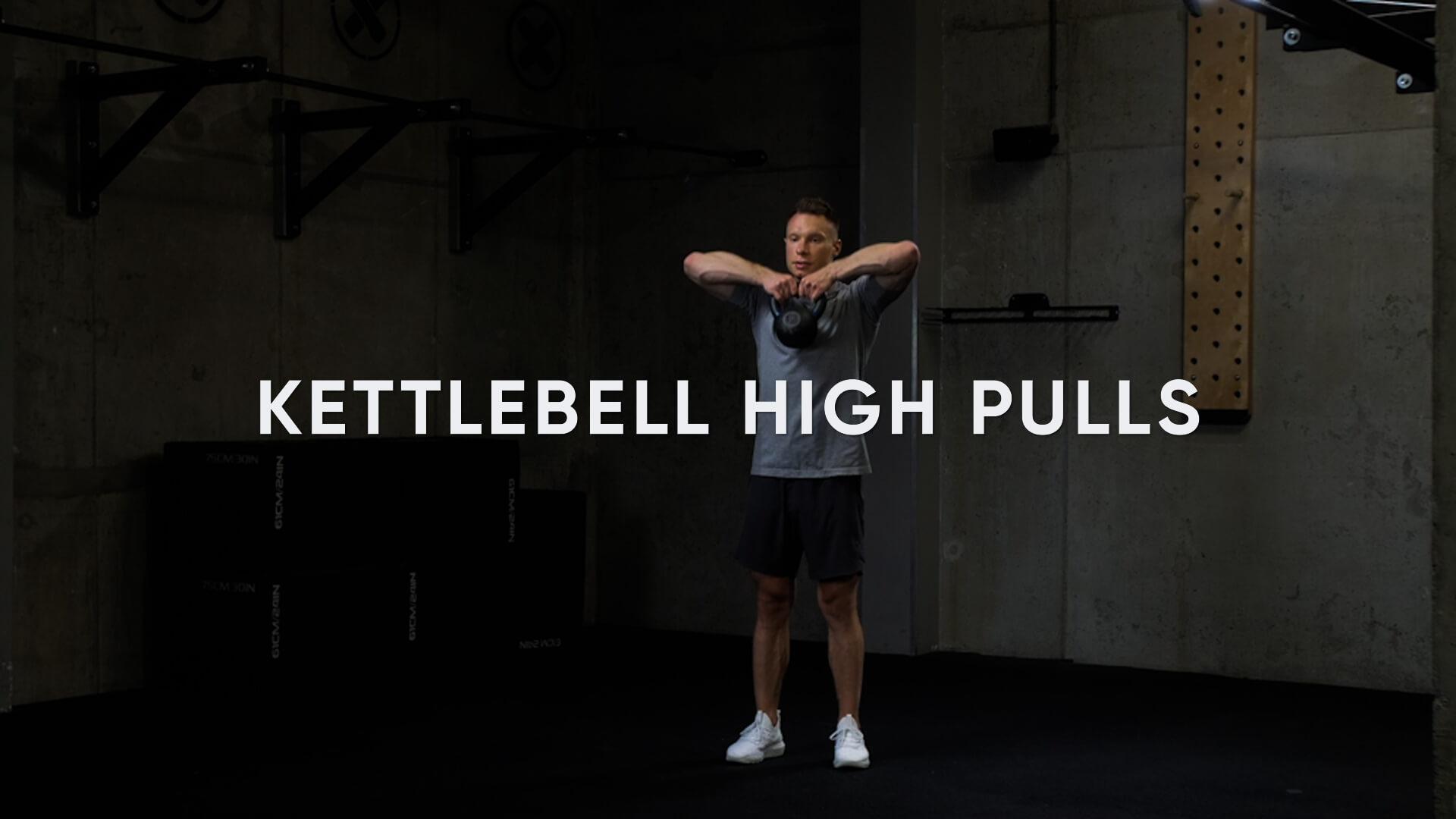 Kettlebell High Pulls