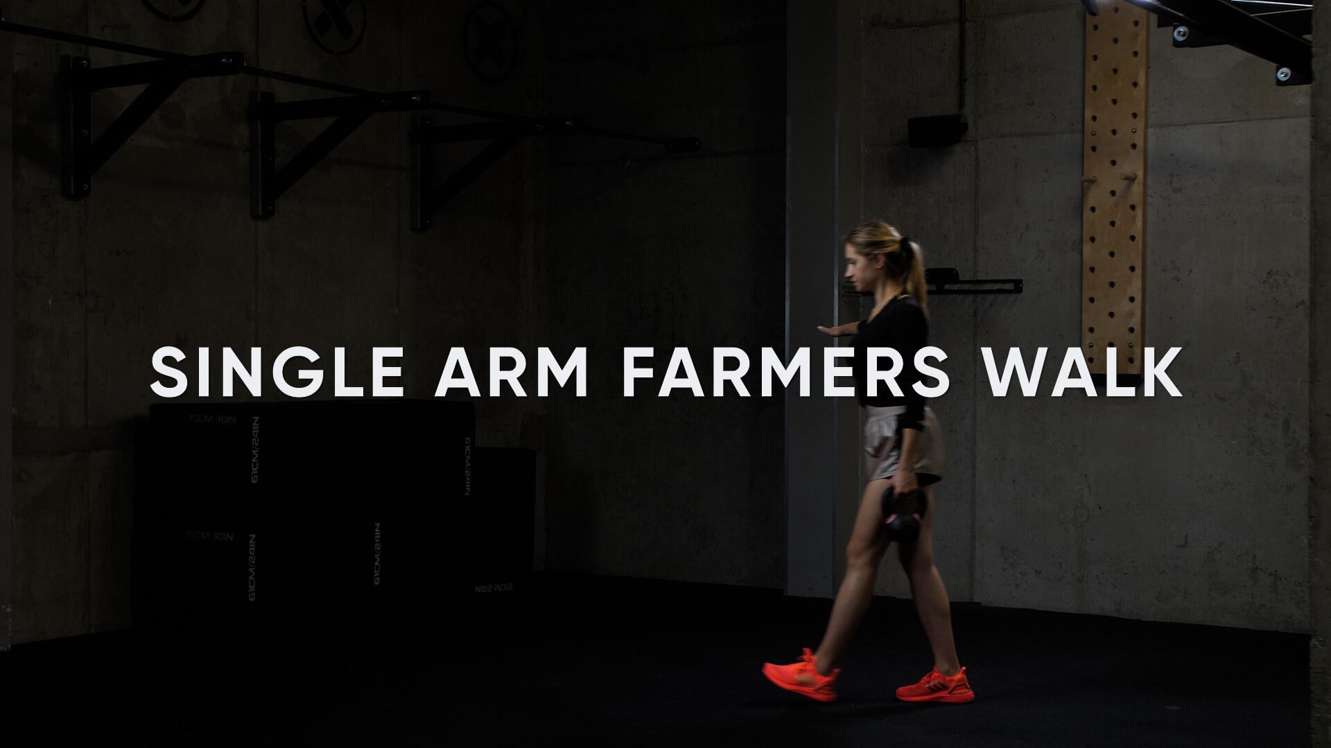 Single Arm Farmers Walk