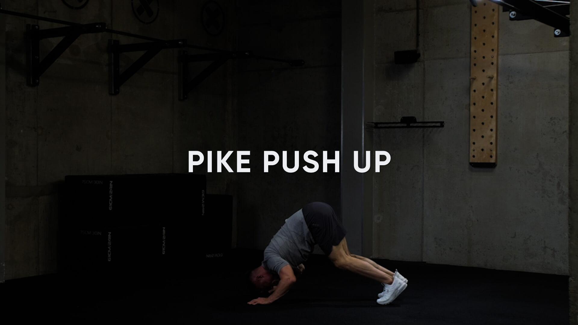 Pike Push Up