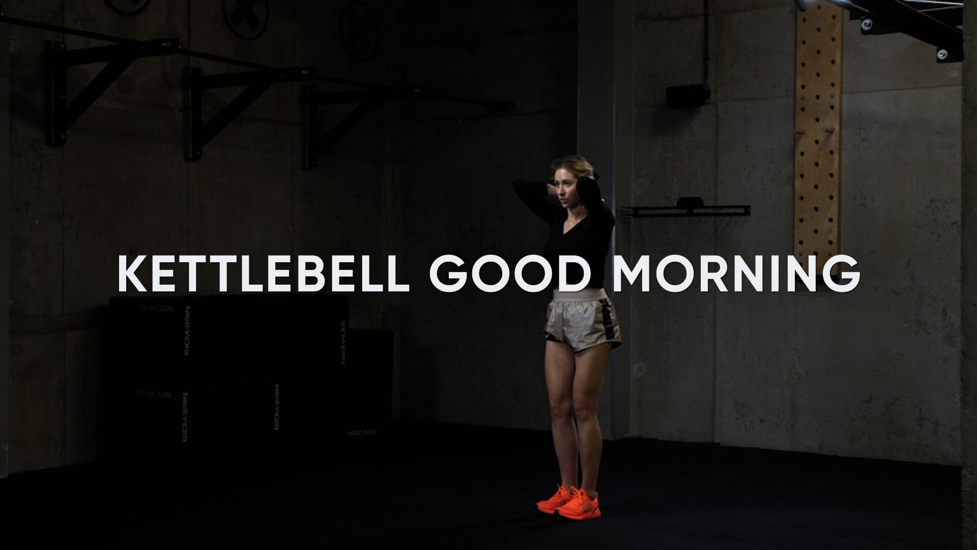 Kettlebell Good Morning