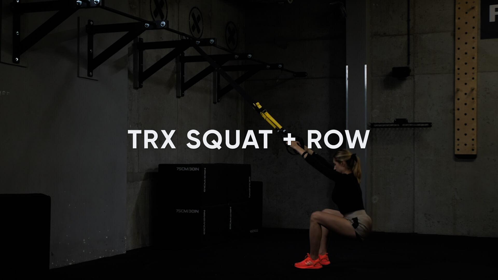 TRX Squat + Row