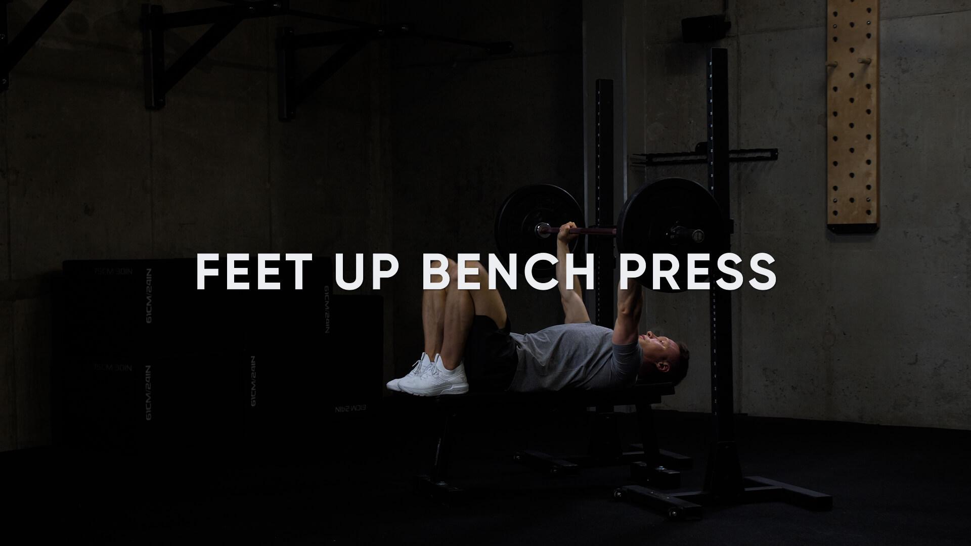 Feet Up Bench Press