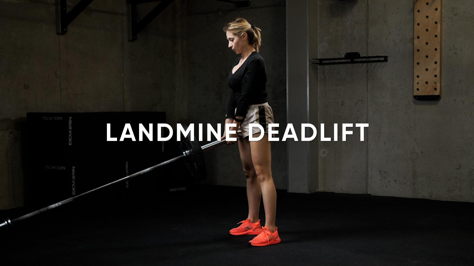 Landmine Deadlift